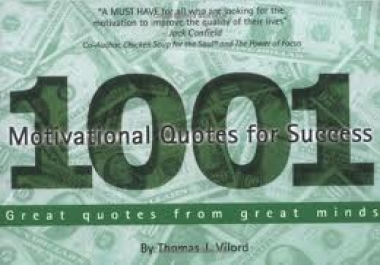 give you 1001 Motivational Quotes for Success