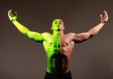 turn you green like the HULK