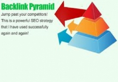 provide Link Pyramid of 100 High PR Web 2 properties and plus 800 social bookmarks high pr for your site, best backlink pyramid delivery within 24hrs