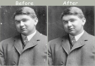 renovate your old or damage photographs