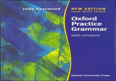 give you an amazing ENGLISH learning book Oxford Practice Grammar with Answers