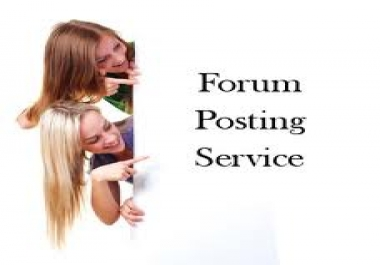 give you 500 Forum Posting Backlinks to boost your website