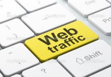 Give you 3500 USA HUMAN TRAFFIC from Google, yahoo, Social media, bing, msn etc