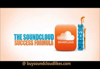 DELIVER 100 SOUNDCLOUD LIKES, 100 CUSTOM COMMENTS AND 100 REPOSTS