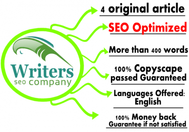 write 4 original content more than 400 words seo optimized
