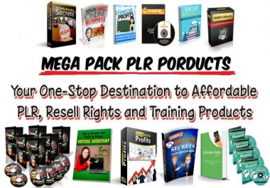Give PLR, MRR, PUR, 2020 Gold Members eBooks Package
