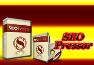 Provide the SEO PRESSOR Wordpress Plugin which can be Effectively Utilized to Achieve PAGE ONE Ranking of Any WordPress Website in ALL the Major Search Engines and can be Installed on UNLIMITED Sites