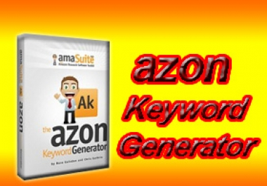 use the AZON KEYWORD GENERATOR Software Tool to conduct COMPREHENSIVE Amazon Keyword Research that will Produce the Most PROFITABLE Amazon Search Keywords for up to 5 SEED KEYWORDS that you specify