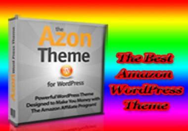 Offer you the AZON WORDPRESS THEME that can be Installed on MULTIPLE SITES to Create the Most Exceptionally POWERFUL Amazon Affiliate Niche Websites which Produce AMAZING Search Engine Rankings