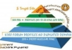 build eminent backlink pyramid with 5000 profile links, links are all from completely different domains and 90% are dofollow