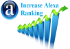 increase your website Alexa Ranking from 15 to 60 percent within 7days