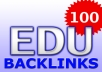 give you a link to a page where you can submit to over 100 .EDU websites with Backlinks to your website