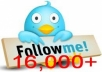 damn Quick get you 16,000+ Twitter followers within 24 hours