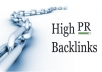 build 90+ backlinks to your site from PR4-8 Social Network and Web 2.0 sites, FREE ping