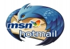 provide you 500 real hotmail email accounts from USA for