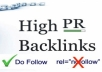 create 500 Do follow Backlinks