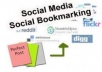 submit your site to 200 Social Bookmarking sites