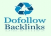 give 500 Do follow Backlinks  to boost your website