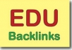 give you 100 .EDU Backlinks to boost your website