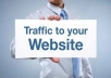 send 4,000+ Real Traffic to your website
