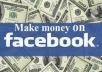 teach you how to make money from facebook likes