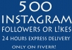 get you 500 instagram followers