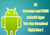 adding 100 Download + 100 Rating + Review for your Android or iOS Apps
