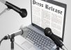 Submit your Press Release in 25 High PR and news sites