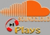 GIVE YOU 13,000 SOUNDCLOUD PLAYS + 800 DOWNLOADS TO UNLIMITED TRACKS OF YOUR CHOICE