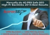 GIVE 100 Percent DOFOLLOW- 40 PR9 HIGH AUTHORITY Safe SEO High Pr Backlinks 2015