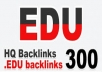 DELIVER 300 HIGH QUALITY EDU BACKLINKS