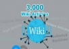GIVE YOU UNLIMITED CONTEXTUAL WIKI BACKLINKS FROM 3,000 WIKI ARTICLES