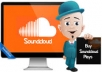 GIVE YOU 130,000 SOUNDCLOUD PLAYS TO UNLIMITED TRACKS OF YOUR CHOICE