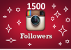 Provide HQ Instagram 1500 Followers Or 2000 like Boost your Social marketing