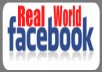deliver 1000 real worldwide facebook fans